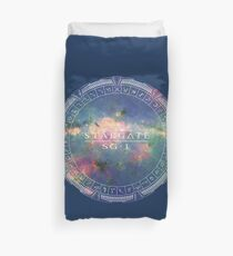 Stargate to the Galaxy Duvet Cover
