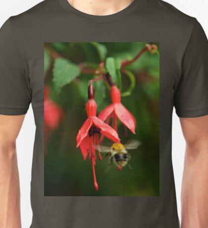 Fuchsia at Loch Na Fooey (wide) T-Shirt