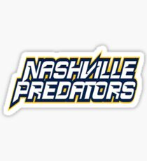 Nashville Predators Sticker