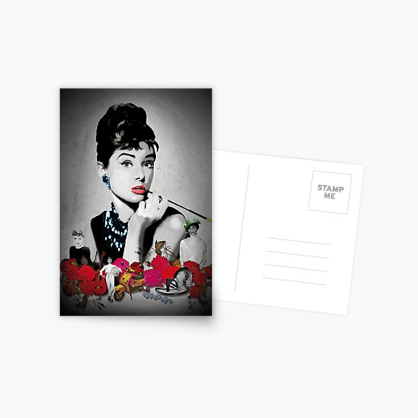 AUDREY_BLACK Postcard