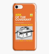 Owners Manual - Ark of the Covenant iPhone Case/Skin