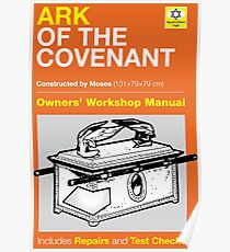Owners Manual - Ark of the Covenant Poster