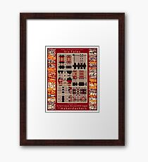 Six Tales from the Glorious Assemblage of Haberdashers Framed Print