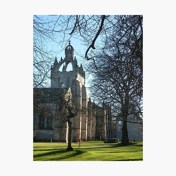 King's College, Old Aberdeen Photographic Print