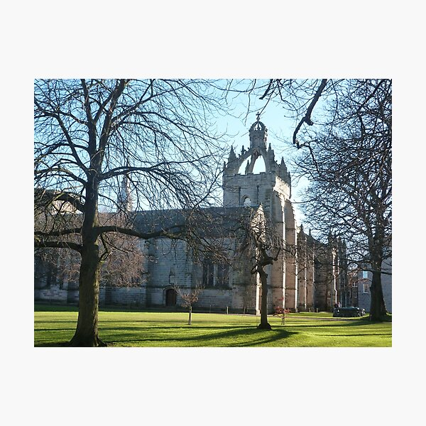 King's College, Old Aberdeen II Photographic Print