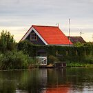 kinderdijk House by Yannik Hay