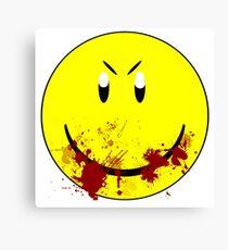 Zombie Smiley - T-shirt Canvas Print