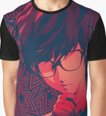 Persona 5 Protagonist Take Your Time Graphic T-Shirt