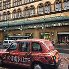 Central Station and Colourful Taxi by Yannik Hay