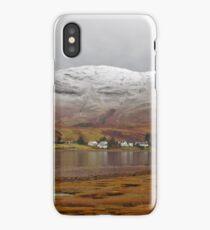 Dornie in winter... iPhone Case