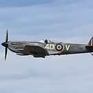 Spitfire in flight - TE311 by carlyhodges