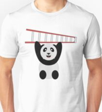 WWF Panda Vintage Ladder  Unisex T-Shirt