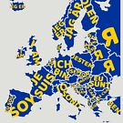 I am European by HandDrawnTees