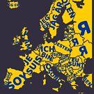 I am European by HandDrawnTees