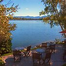Patio on the Water Front - Mirror Lake by Yannik Hay