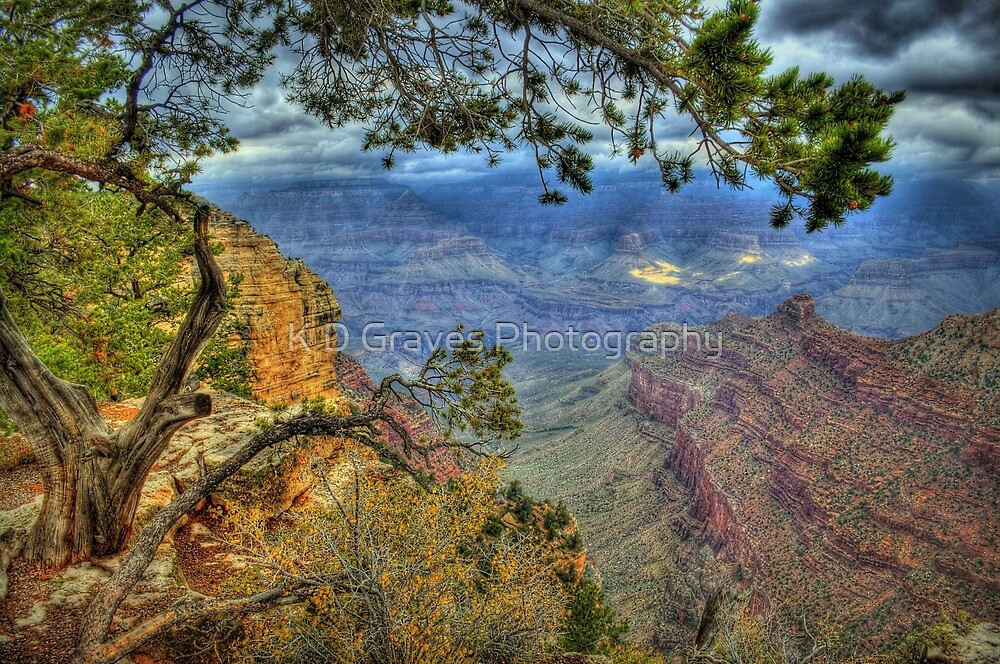 The Grand Canyon View by K D Graves Photography