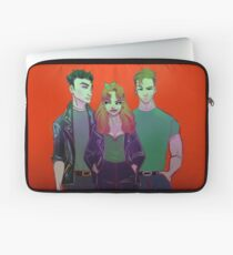 DC Greased Laptop Sleeve