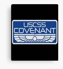 uscss Covenant Canvas Print