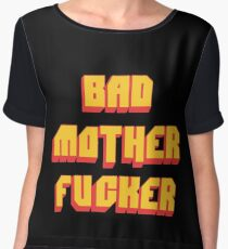 Pulp Fiction Bad MoFo Women's Chiffon Top