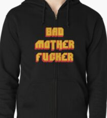 Pulp Fiction Bad MoFo Zipped Hoodie
