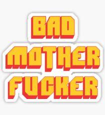 Pulp Fiction Bad MoFo Sticker