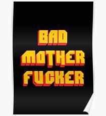 Pulp Fiction Bad MoFo Poster