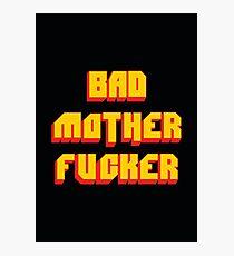 Pulp Fiction Bad MoFo Photographic Print