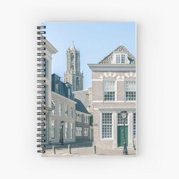 Achter de Dom (Utrecht) Spiral Notebook