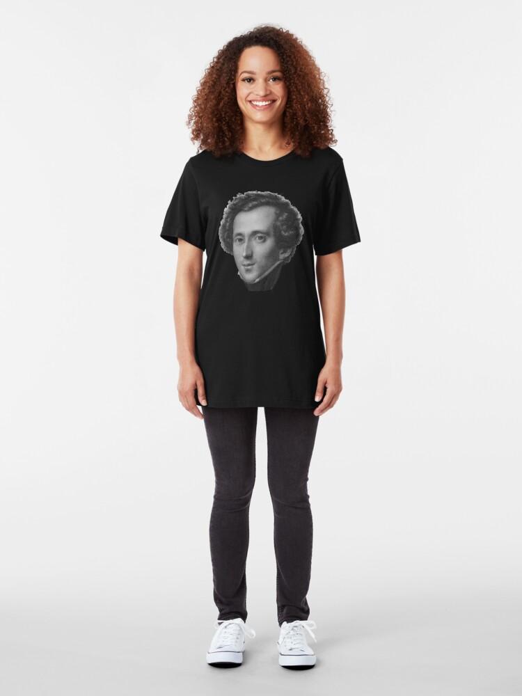 Alternate view of Felix Mendelssohn Slim Fit T-Shirt
