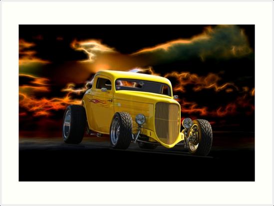 1934 Ford 'HiBoy' Coupe II by DaveKoontz