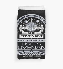 Alien Covenant mission - uscss covenant Duvet Cover