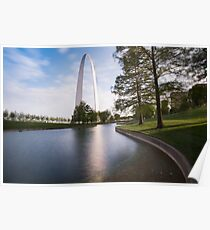 Gateway Arch at Sunset  Poster