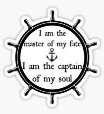 Captain of my soul Sticker