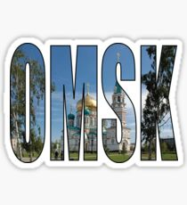 Omsk Sticker