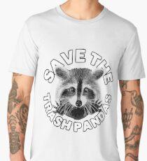 Save the Trash Pandas Raccoon Animal T-shirt Men's Premium T-Shirt