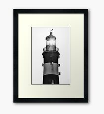 The Shining Light of Smeatons Tower  Framed Print