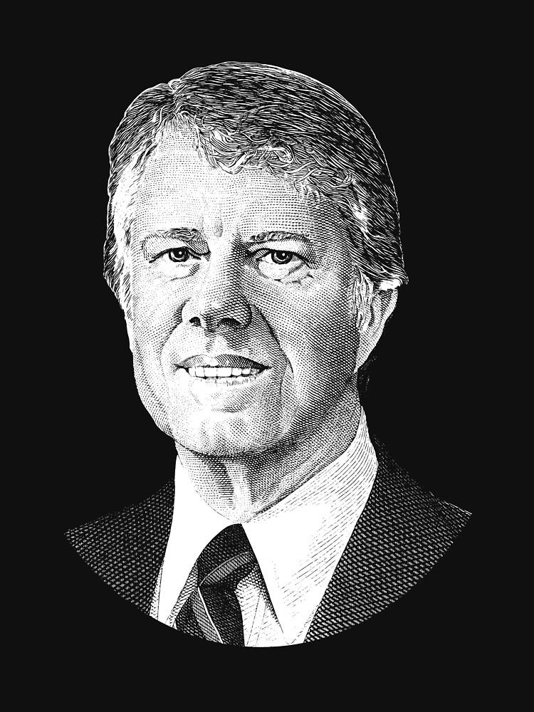 El presidente Jimmy Carter Graphic de warishellstore