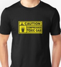 Caution - Compressed Toxic Gas T-Shirt