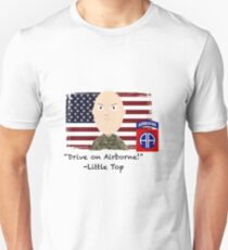 Drive on Airborne-82nd Unisex T-Shirt