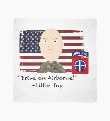 Drive on Airborne-82nd Scarf