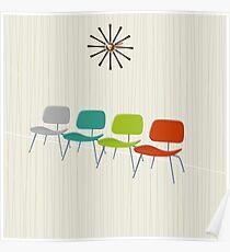 Midcentury Modern Furnishings Poster