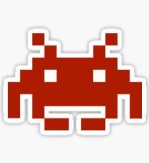 Single Invader Sticker