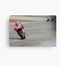 Andrea Dovizioso at Circuit Of The Americas 2014 Canvas Print
