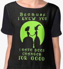 Wicked. Wicked Musical Quotes. Women's Chiffon Top