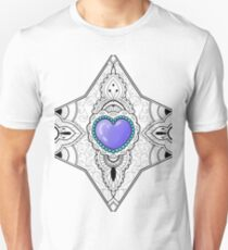 A heart in lace Unisex T-Shirt