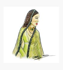Mughal Bibi Photographic Print