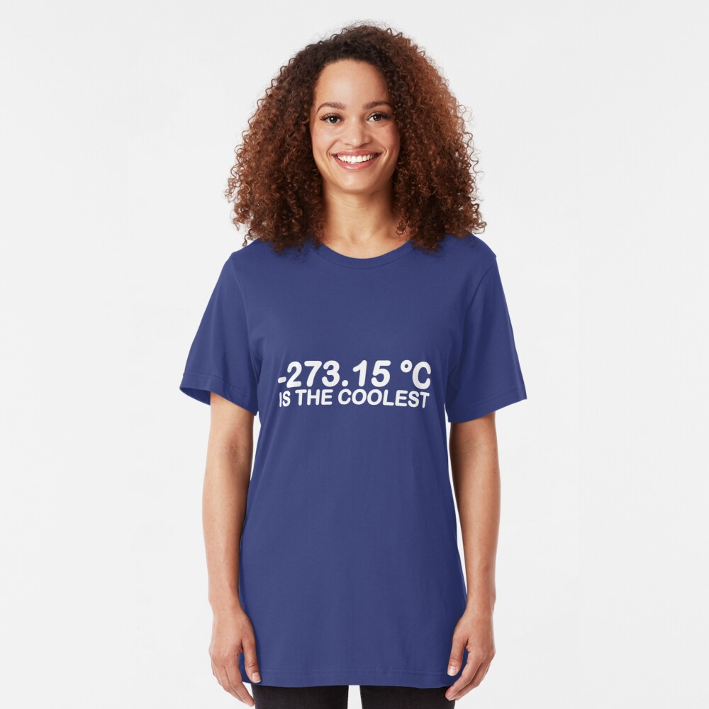 -273.15°C Is The Coolest Slim Fit T-Shirt