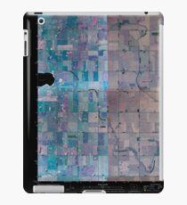 USGS TOPO Map Iowa IA Rush Lake East 20100427 TM Inverted iPad Case/Skin