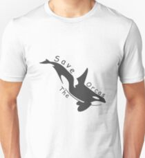 Save the Orcas Unisex T-Shirt