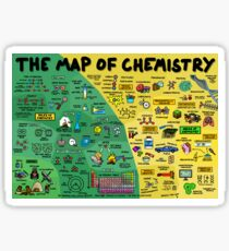 The Map of Chemistry Sticker